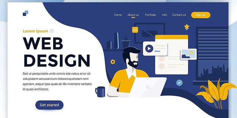 Web Design Flat Style