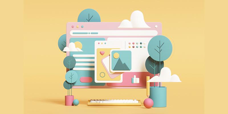 Web Design Illustrative Style