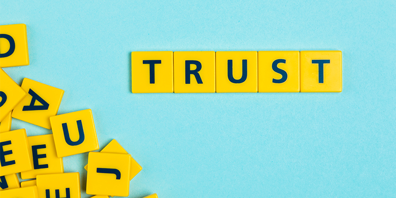 develops trust to users on Google