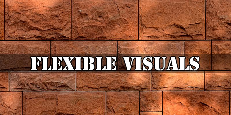 Flexible Visuals for responsive web design