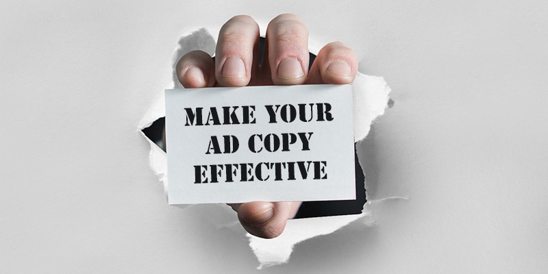 Ad copy effective for SEM campaign