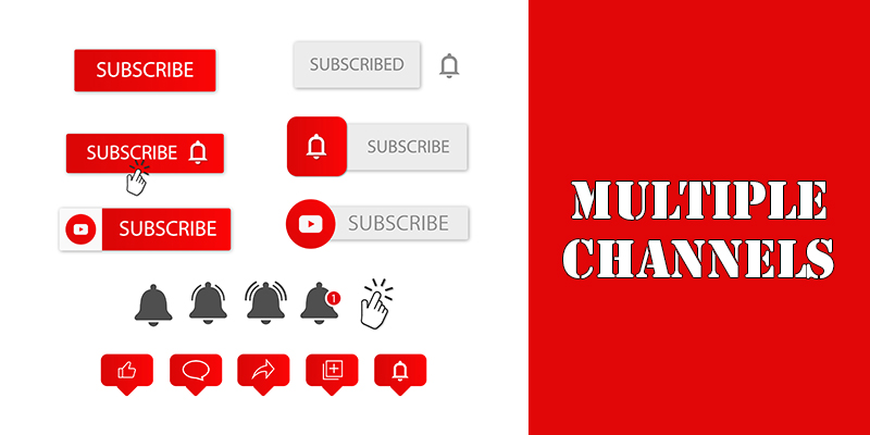 Learn SEO on Multiple Channels On YouTube