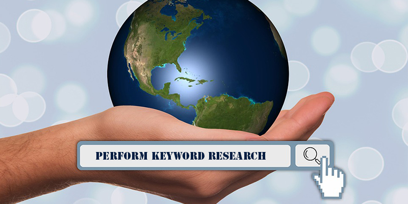 SEO Guide - keyword research