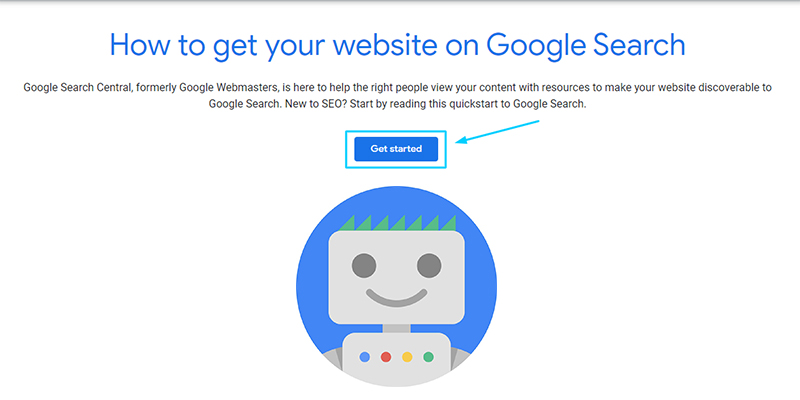 Get Started In Google Search Console
