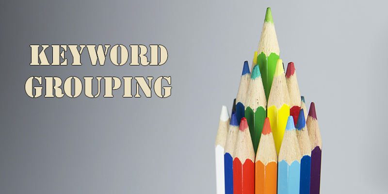 keyword grouping for SEM campaign