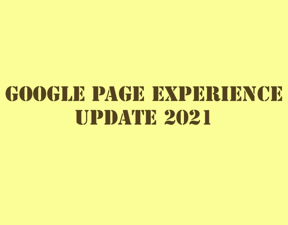 Expected in Google Page Experience update