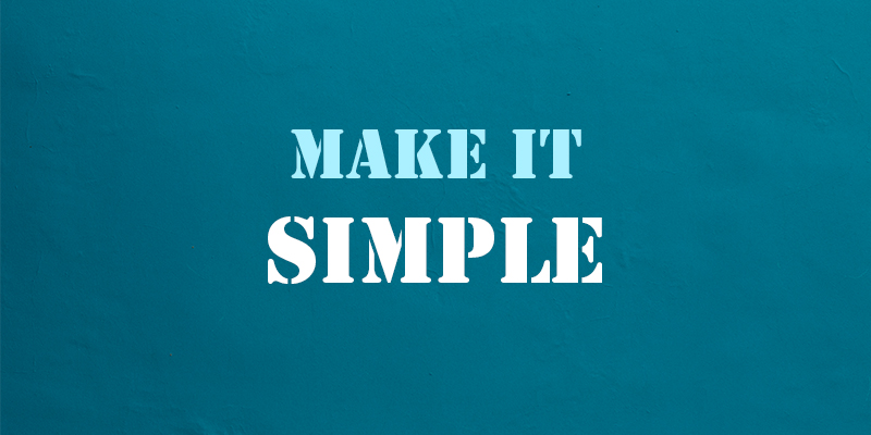 Make Simple Content